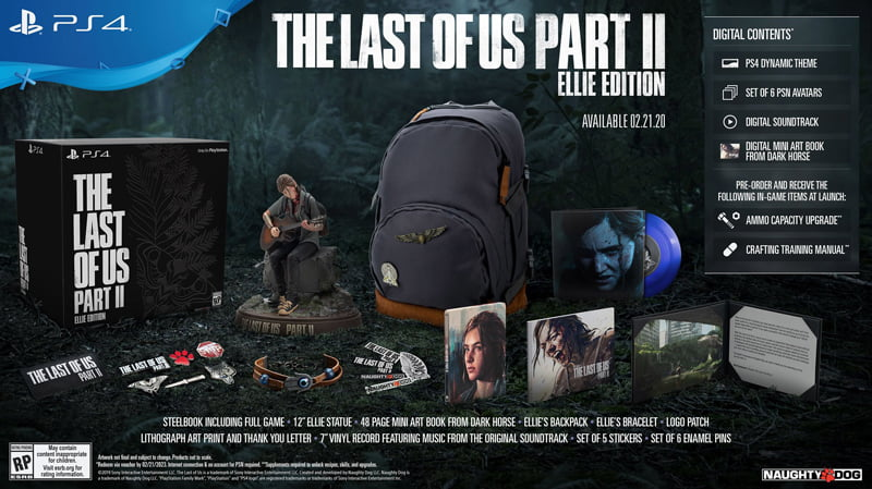 dia game the last of us 2 special edition 3794 8 Đĩa Game THE LAST OF US 2: SPECIAL EDITION